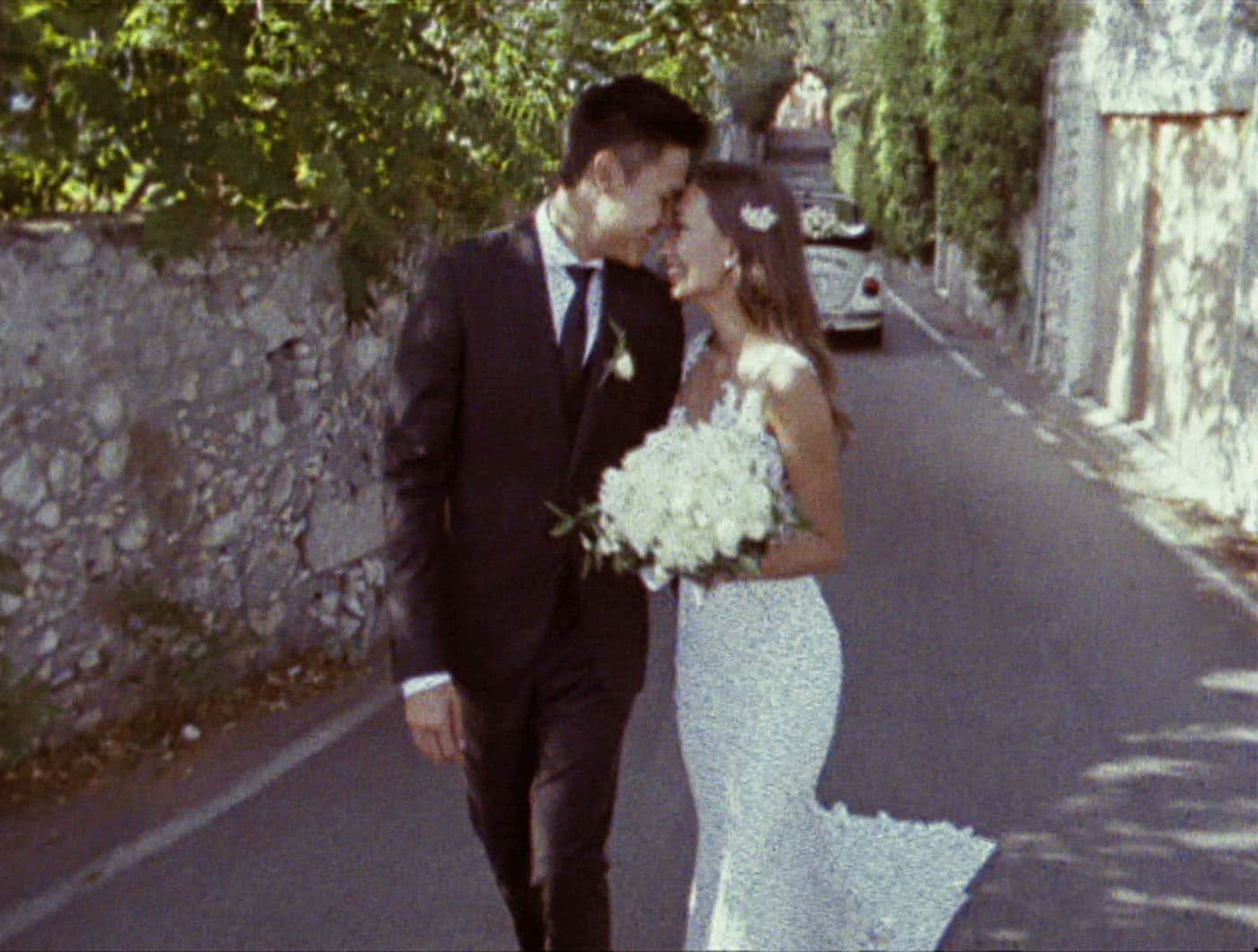 Super 8 Wedding Film Italy