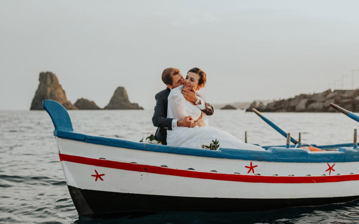 Fotografo Matrimonio Sicilia Acitrezza